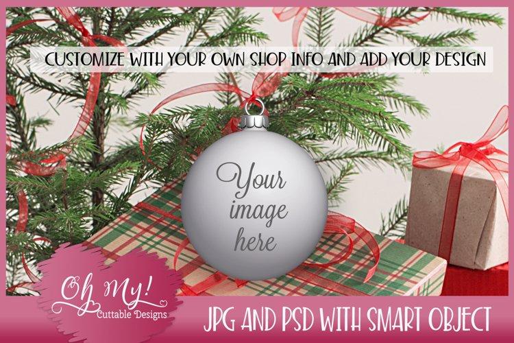 Christmas Ornament Mockup