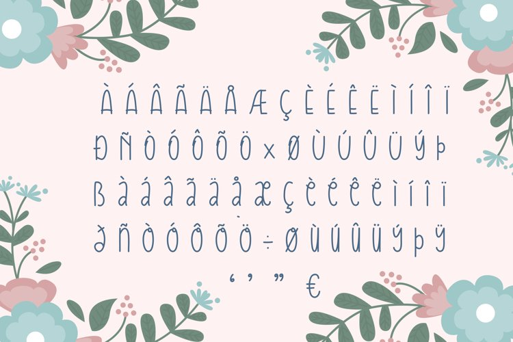 Kamilah Font example 2