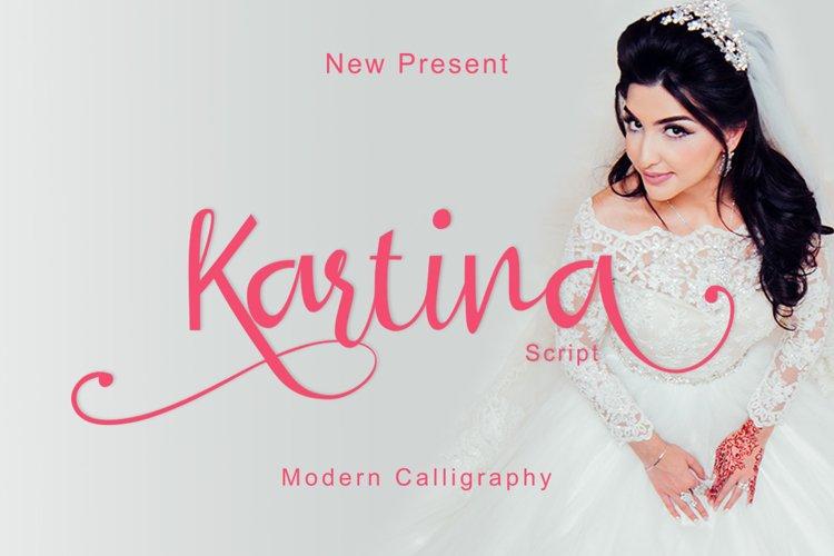 Kartina Script example image 1