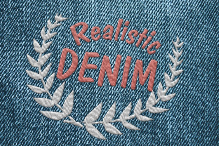 15 Denim Jean Fabric Textures JPG example 5