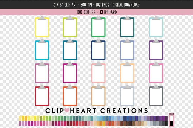 Clipboard Clip Art - 100 Clip Art Graphics
