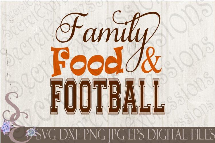 Family Food Football example image 1