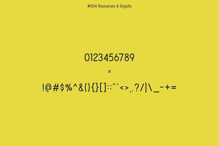 Berry Typeface example 1