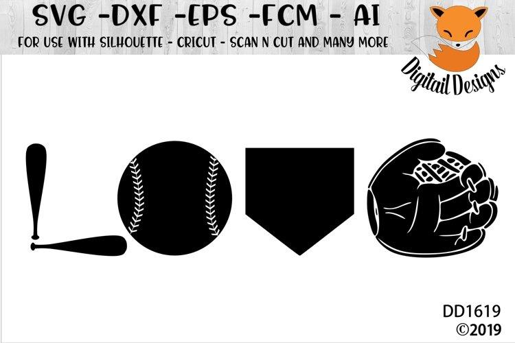 Download Baseball Love Svg Silhouette Cricut 332833 Cut Files Design Bundles