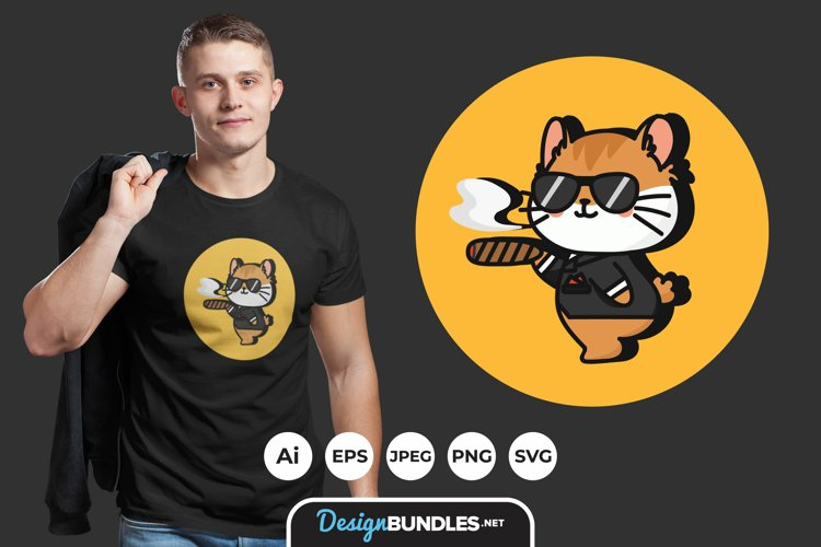 Animal Mafia for T-Shirt Design