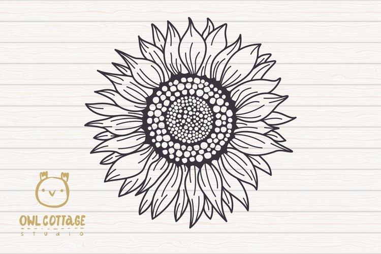 Sunflower Monograms svg, Sunflower mini bundle, Sunflower cl - Free Design of The Week Design1