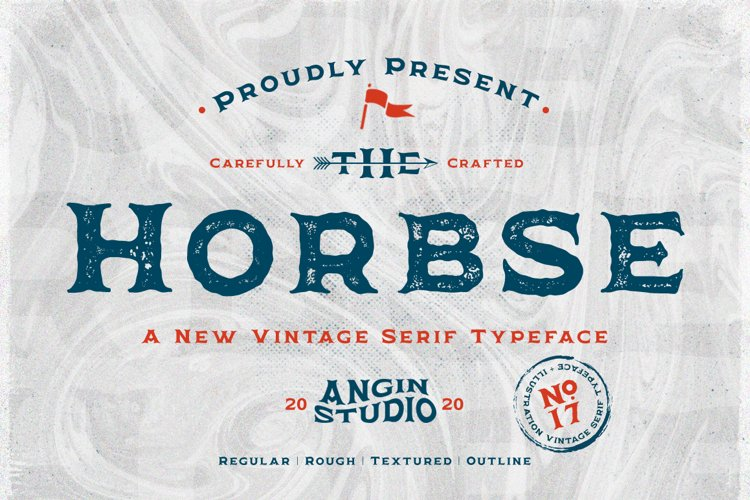 Horbse Vintage Serif example image 1
