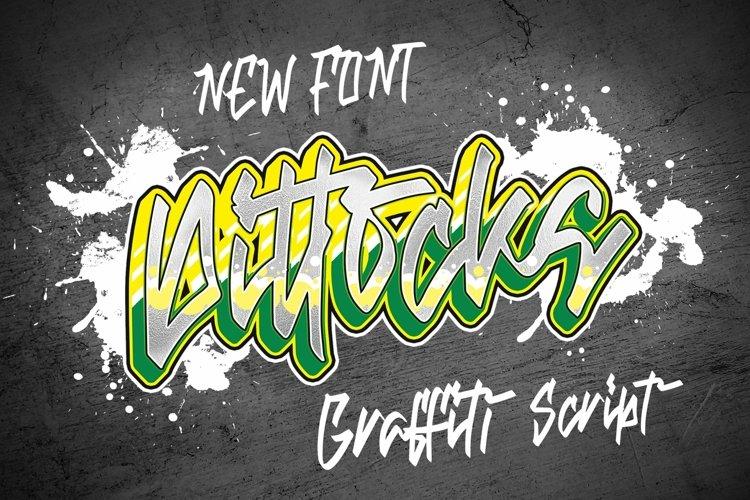 Web Font Dittocks - Graffiti Fonts example image 1