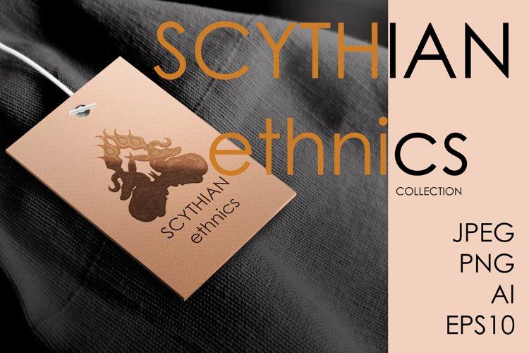 SCYTHIAN ETHNICS. ETHNIC SET. Patterns and borders