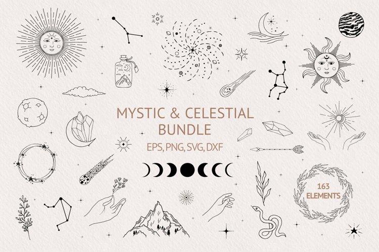 Hand drawn Mystic & Celestial Bundle example image 1