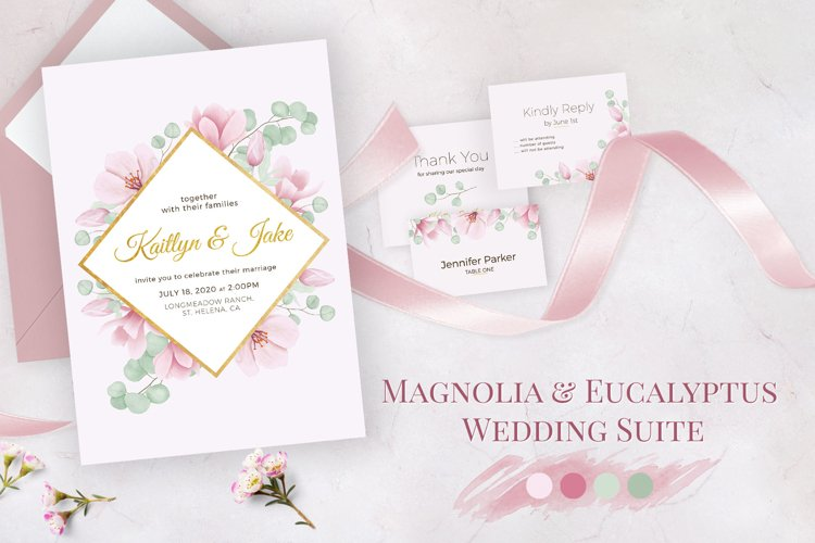 Magnolia & Eucalyptus Wedding Suite example image 1