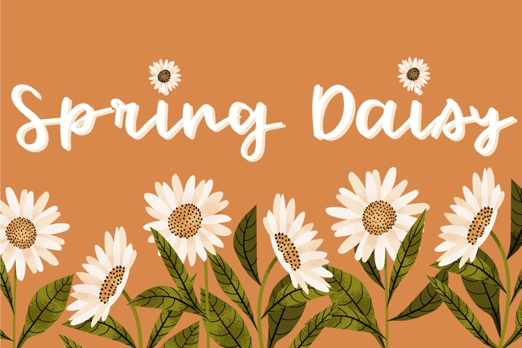 Spring Daisy example image 1