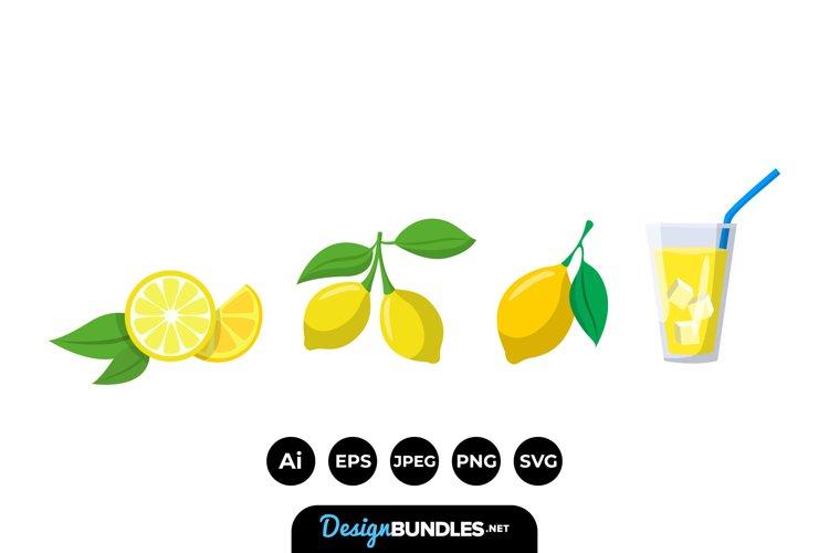 Lemonade Clipart example image 1