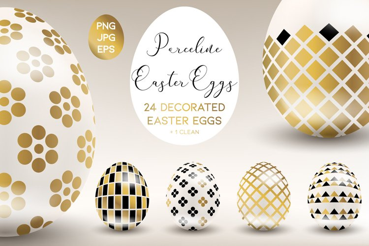 Porceline Easter Eggs example image 1