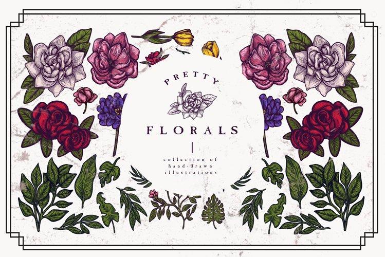 Pretty Florals | Vector Clipart