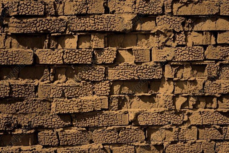 brick wall, sepia example image 1