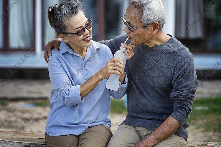 retirement planning, couple senior example image 1
