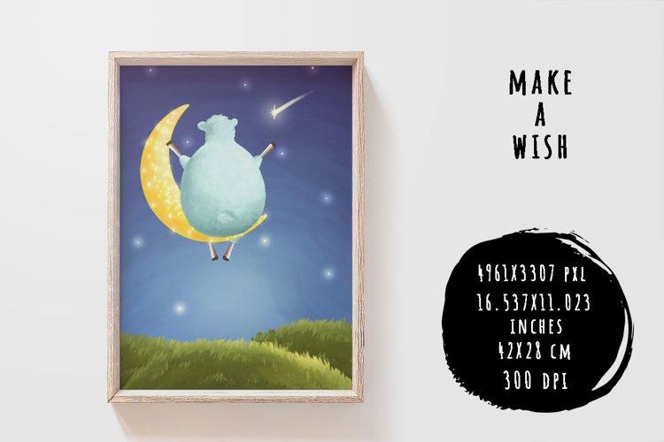 Make a wish example image 1