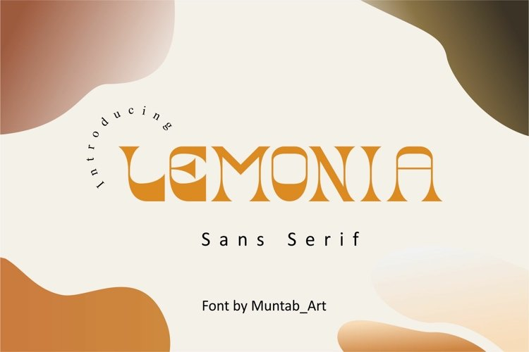 Lemonia | Modern Serif example image 1