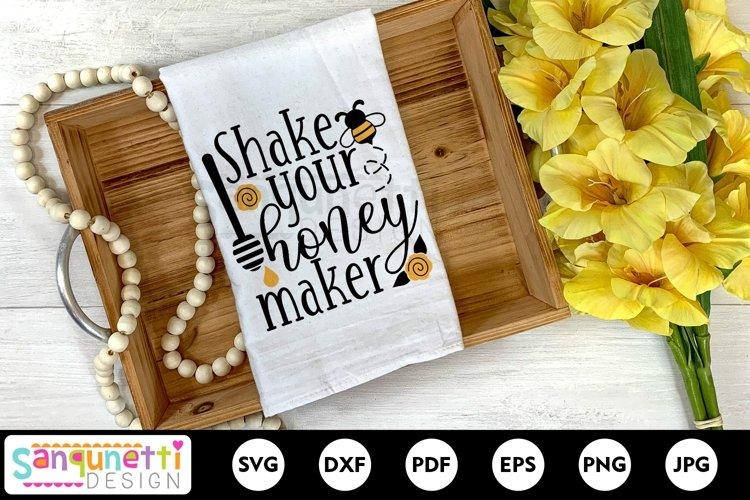 Shake your honey maker funny SVG design