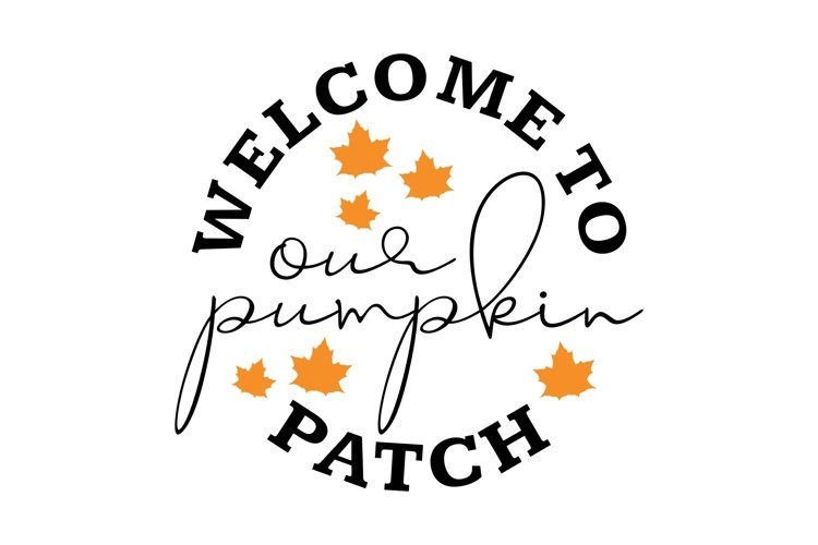 Welcome to our Pumpkin Patch example 1