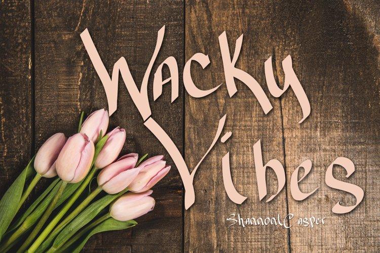 Wacky Vibes Fun Handwritten Font
