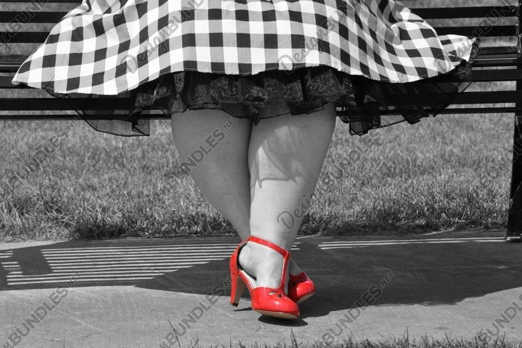 Red Shoes Photograph - JPEG File example image 1