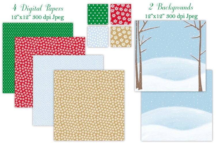 Christmas clipart, Christmas graphics & illustrations - Free Design of The Week Design0