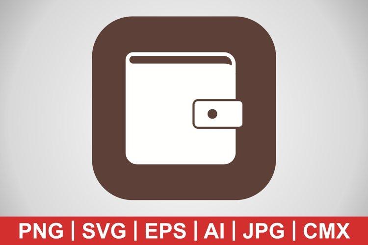 Vector Wallet Icon example image 1
