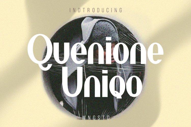 Quenione Unico example image 1