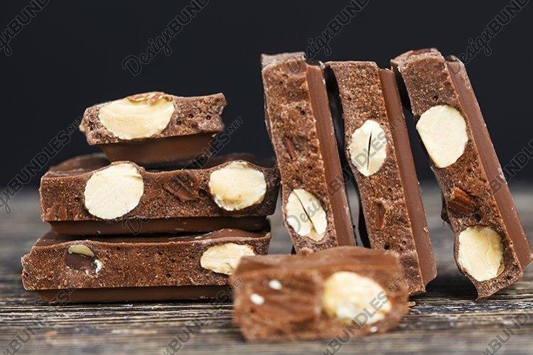 chocolate broken into pieces example image 1