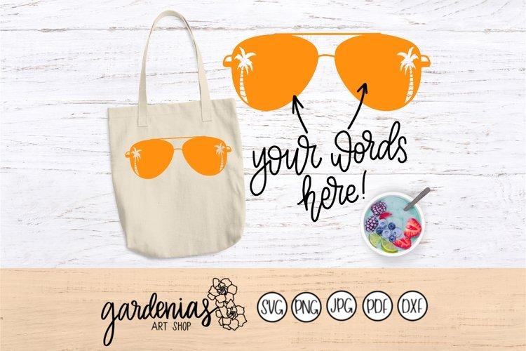 Sunglasses with Palm Trees | Paradise Sunglasses