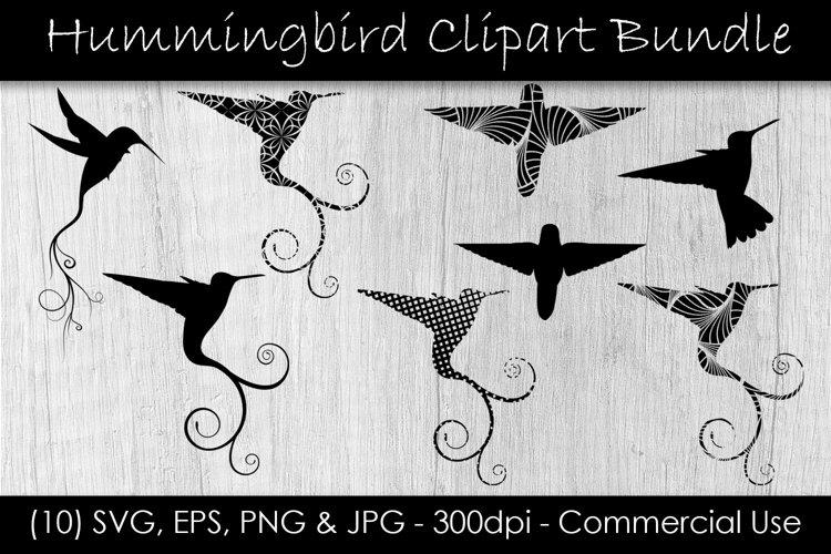 Hummingbird SVG Clipart Bundle