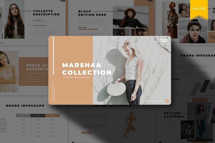 Marshaa | Google Slides Template example image 1
