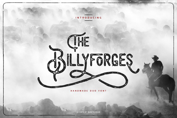 The Billyforges - Duo Fonts example image 1