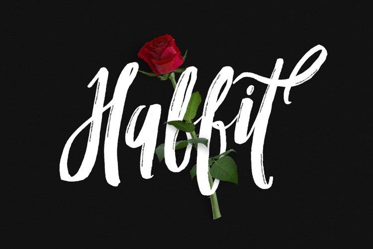 Habbit Typeface example image 1