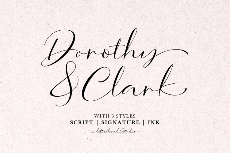 Dorothy Clark Script example image 1