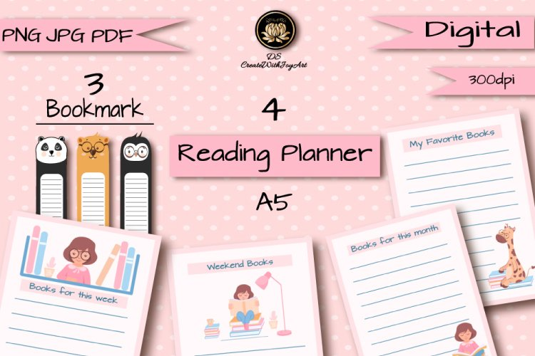 Reading Planner example image 1