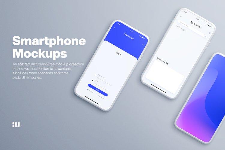 Smartphone Mockups example image 1