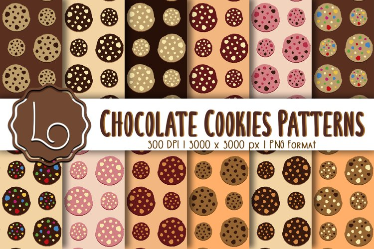 Chocolate Cookies Patterns example image 1