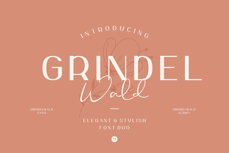 Grindelwald Font Duo example image 1