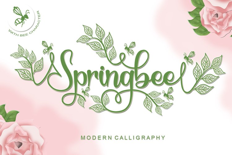 Springbee - Modern Calligraphy example image 1
