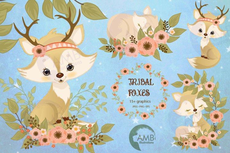 Boho Chic Spring Fox