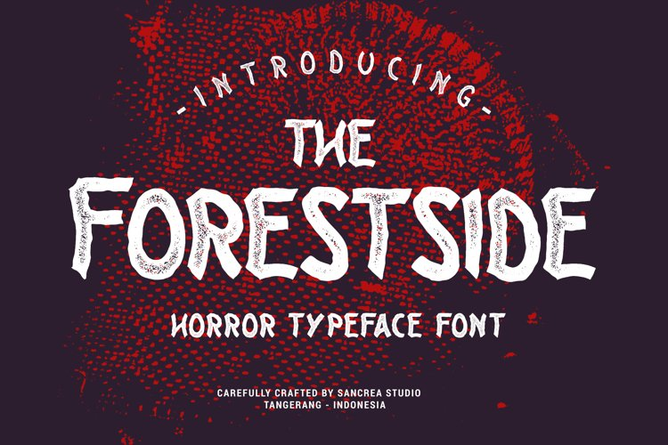 Forestside Typeface example image 1