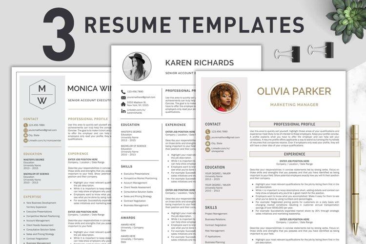 Resume Template / CV Templates Bundle