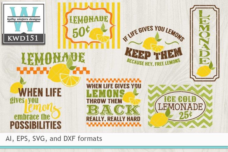 Lemon SVG - Lemon Cutting Files