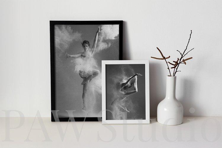 Black and White Photo Frame Mockups example 4