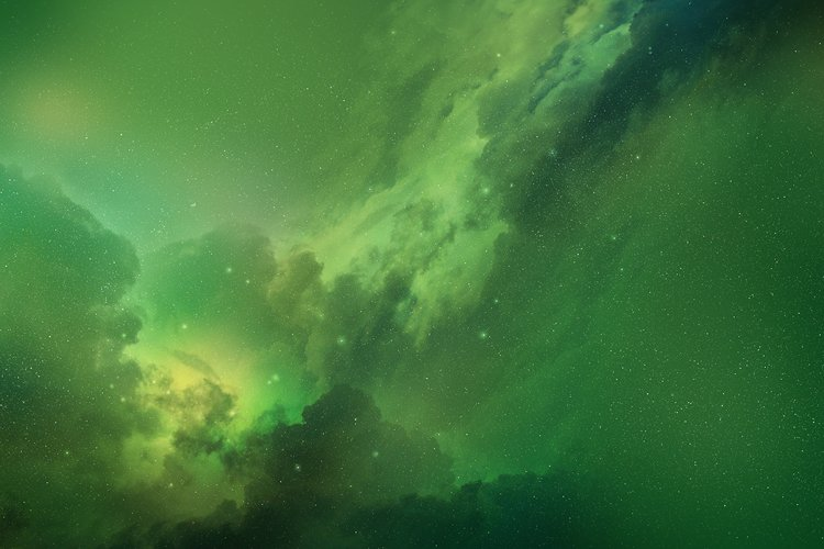 5 Realistic Nebula Backgrounds example 3