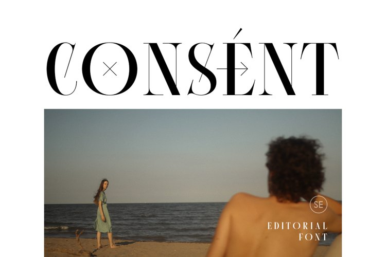 Consent - Editorial Serif Font example image 1