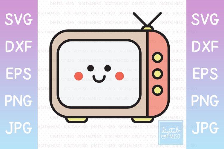 TV / Television Color - Kawaii Vector Icons